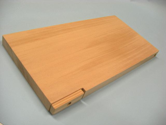自立するまな板 横型 (滋賀)