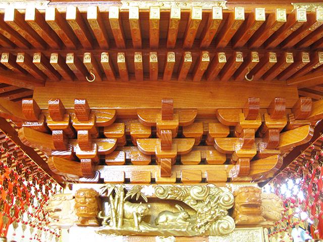 神輿 けやき2尺 (富山)