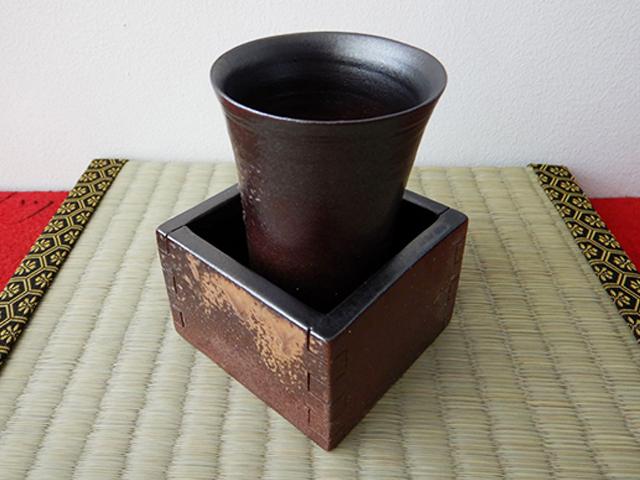 枡付き酒杯 (岡山)