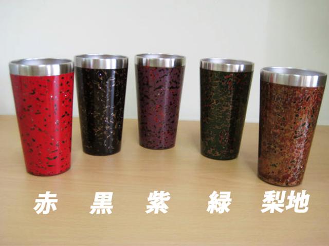 津軽塗螺鈿タンブラー 小 (青森)