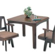 ダイニングテーブル二人掛(月形)S型