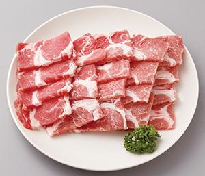 鹿児島産黒豚焼肉 300g 《3245P397-21》