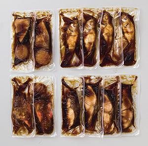氷温熟成 煮魚・焼き魚詰合せ  《3395O055-21》
