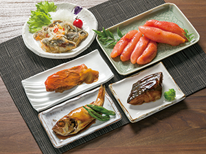氷温熟成辛子明太子&魚惣菜セット   《3445D786-21》