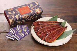 鰻楽 鰻蒲焼き5尾(650g)  《3545G067-21》