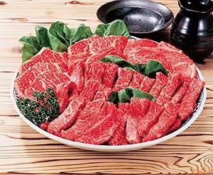 北海道十勝和牛焼き肉 1kg  《3645T339-21》