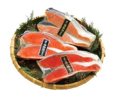 甘塩鮭切り身 3種140g各2