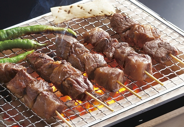 米沢牛 串焼き