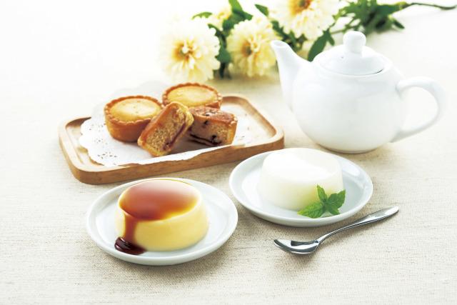 ※現物品 スウィートティータイム(ジャージーミルクプリン&レアチーズケーキ)