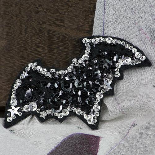 Lolocott(ロロコット) Big Bat ブローチ