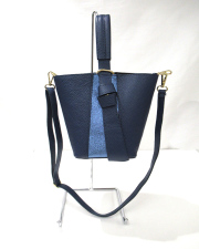 AND-2122Leather バケツ型2WAY BAG
