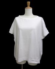 【EUROPEN CULTURE(ヨーロピアンカルチャー)】オーバーサイズショートスリーブTシャツ ホワイト