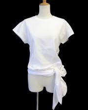 【Meraviglia(メラヴィリア)】 3WAY ロングTシャツ (ホワイト)
