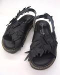 【 DOVER Shoes 】 バックストラップサンダル ブラック