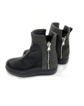 【 CORSO ROMA 9】 スニーカーソールショートブーツ(ブラック)