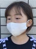 (子供用) 抗菌天竺 洗えるマスク 2枚セット(送料込)
