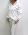17SS BALOSSA BA0092 TEHEA バックリボンシャツ (ホワイト)