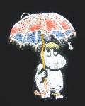 Lolocott(ロロコット)×MOOMIN 【 スノークのお嬢さん傘 】