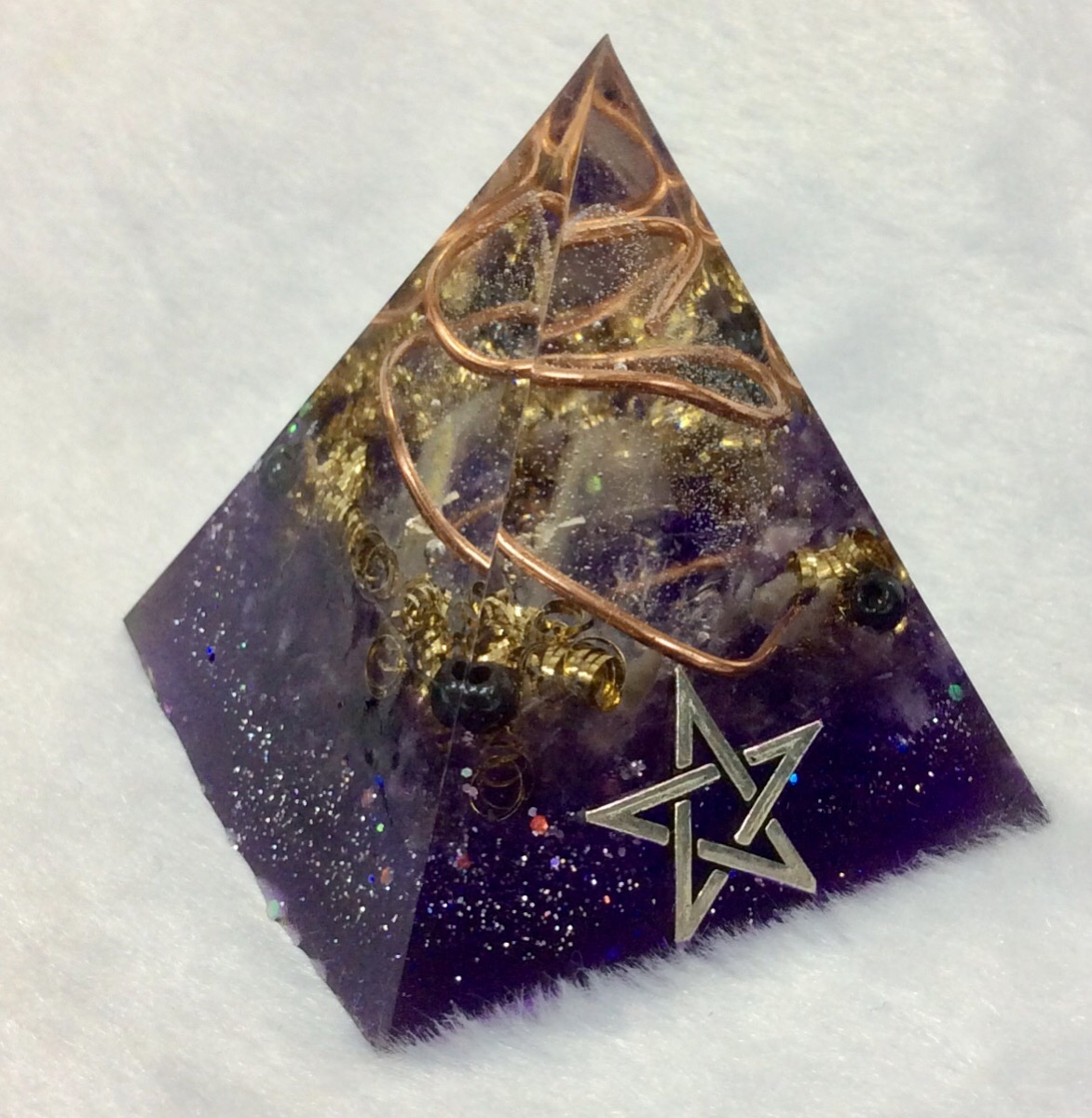 オルゴナイト (2月・アメジスト)