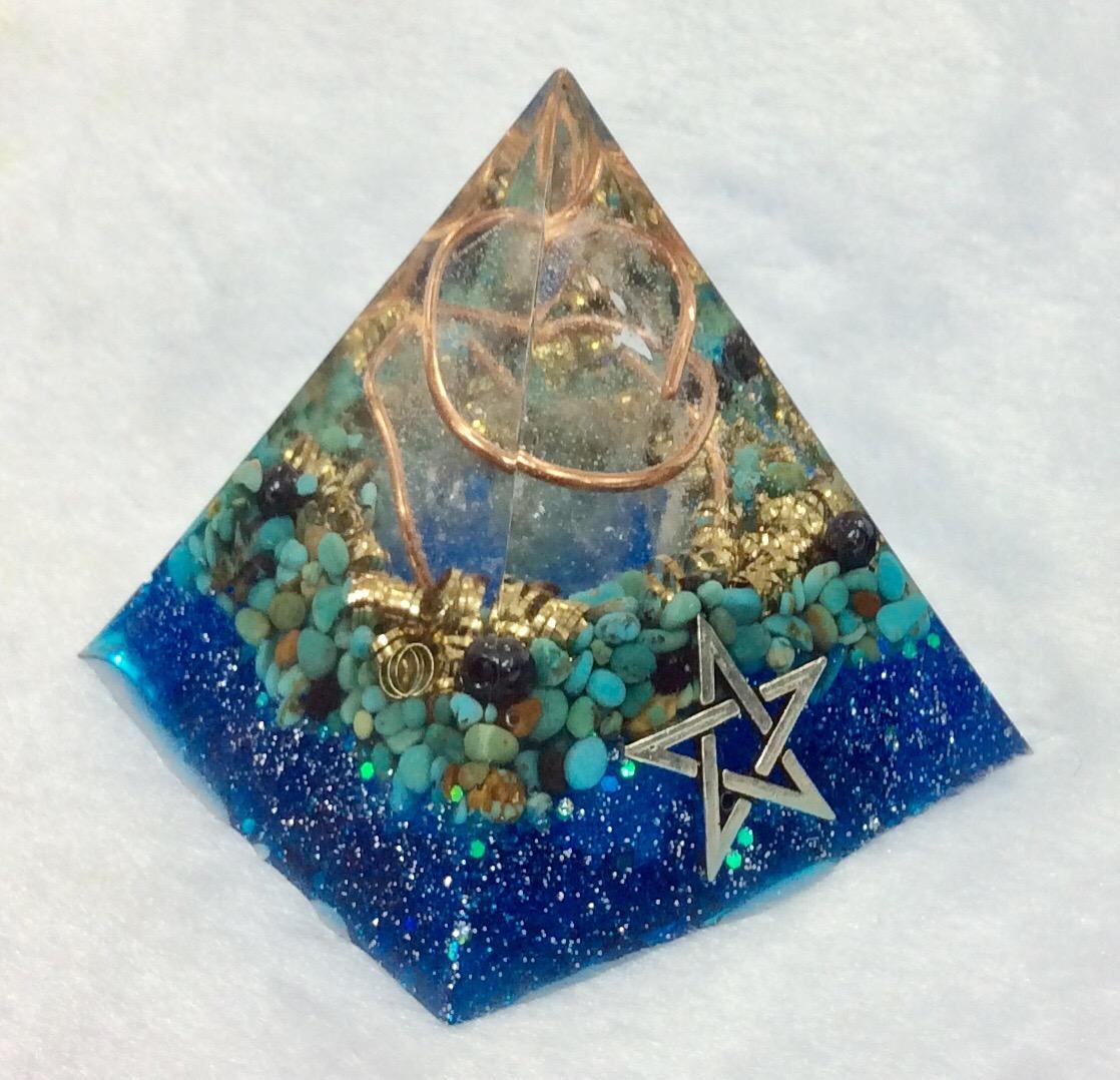 オルゴナイト (12月・ターコイズ)