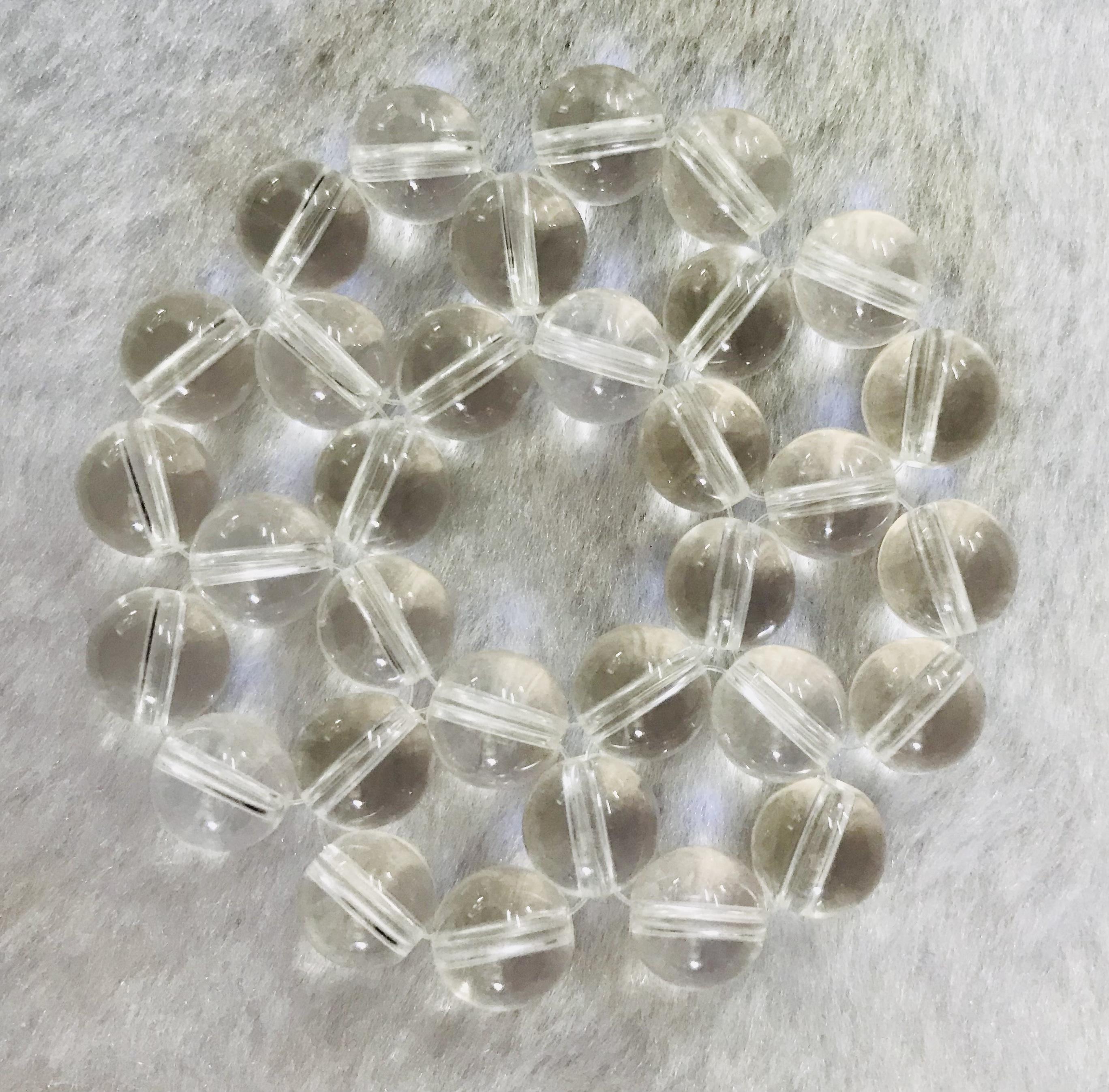 フラワーチャクラストーン (第七チャクラ・水晶)