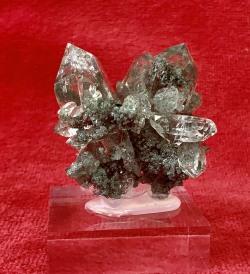 最高級マニハール水晶 台付き112g (ヒマラヤ水晶)