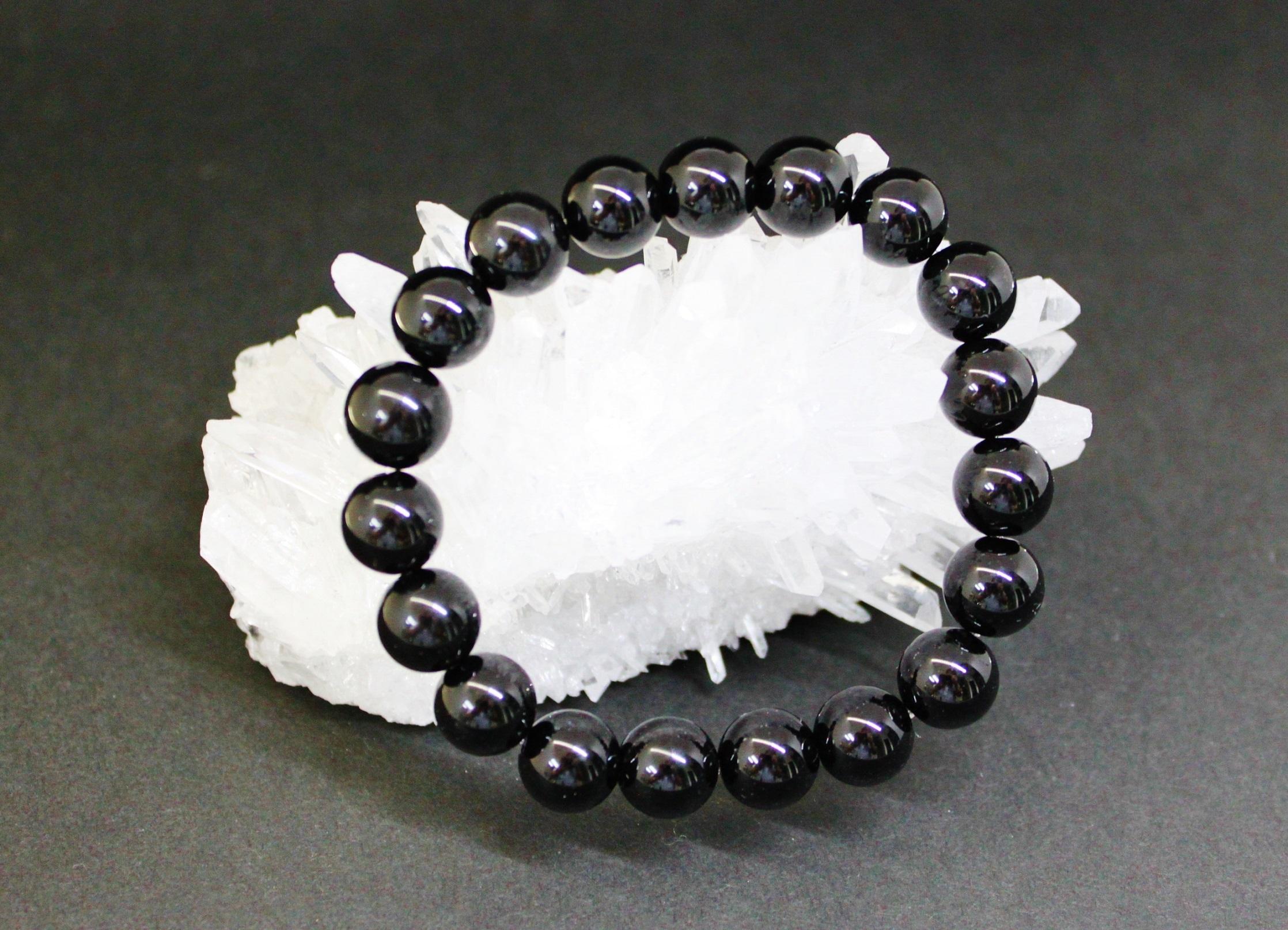 モリオン(黒水晶) 非常に強いパワーで守ります 10mm玉