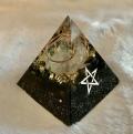 ブラックオルゴナイト (オブシディアン)