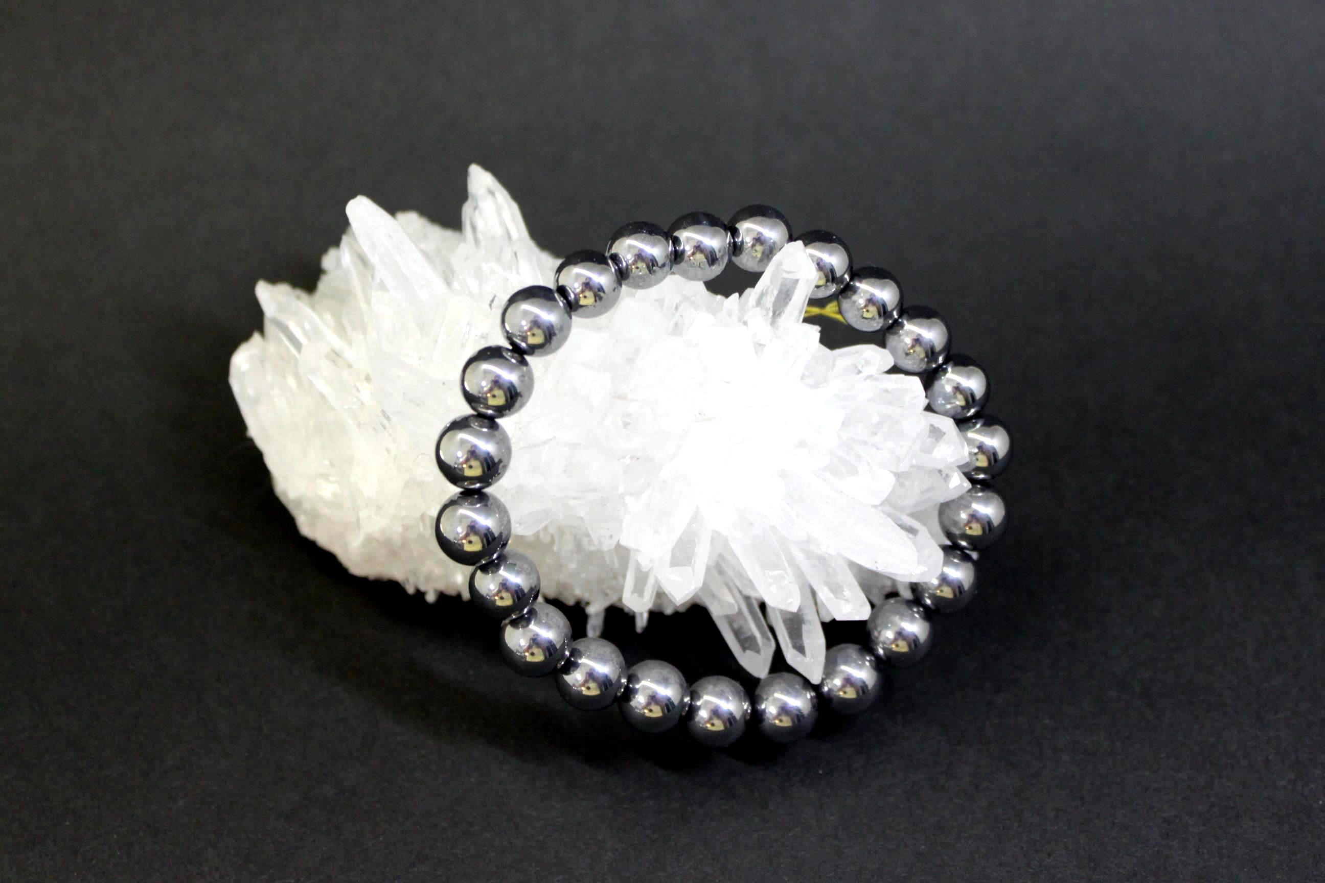 テラヘルツ鉱石 丸玉ブレスレット10ミリ