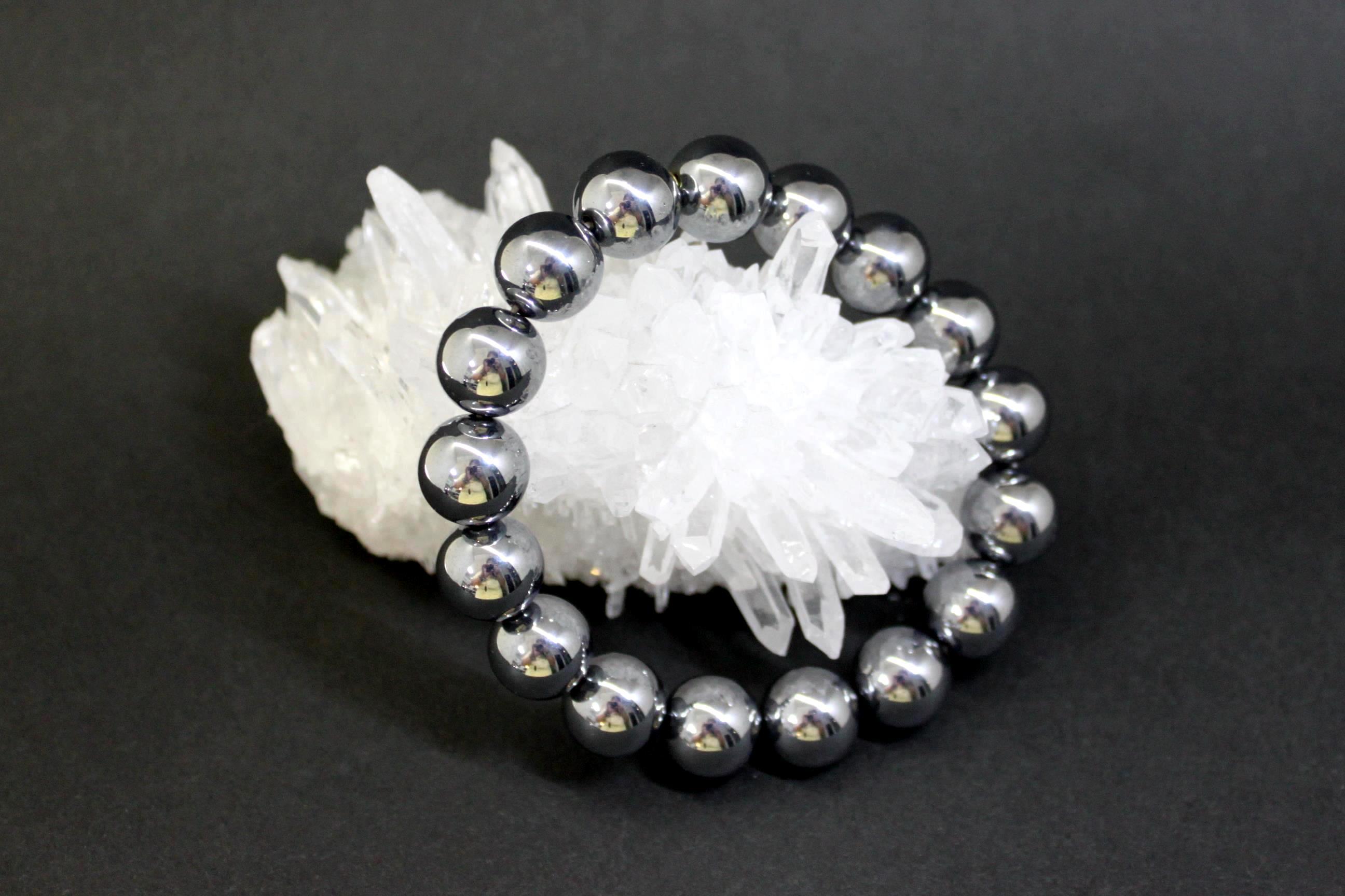 テラヘルツ鉱石 丸玉ブレスレット12ミリ