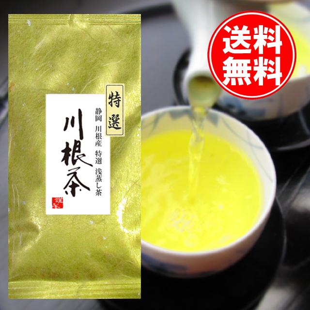 【送料無料】【2018新茶】静岡川根産浅蒸し茶 川根茶 100gパック
