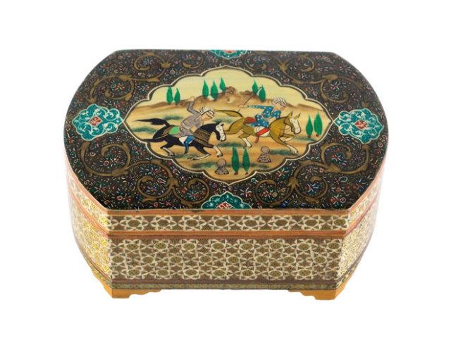 カタム Jewelry Box 約15×8×11cm kj015008001