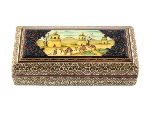 カタム Jewelry Box 約20×6×10cm kj020006001