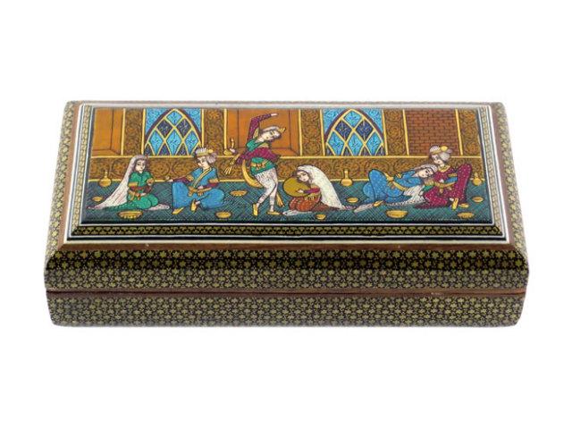 カタム Jewelry Box 約21×6×11cm kj021006001