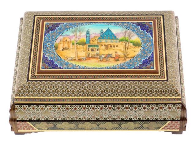 カタム Jewelry Box 約28×11×20cm kj028011001