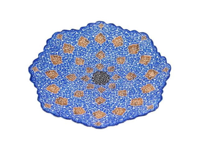ミナ Plate 直径 約16cm mp016016002