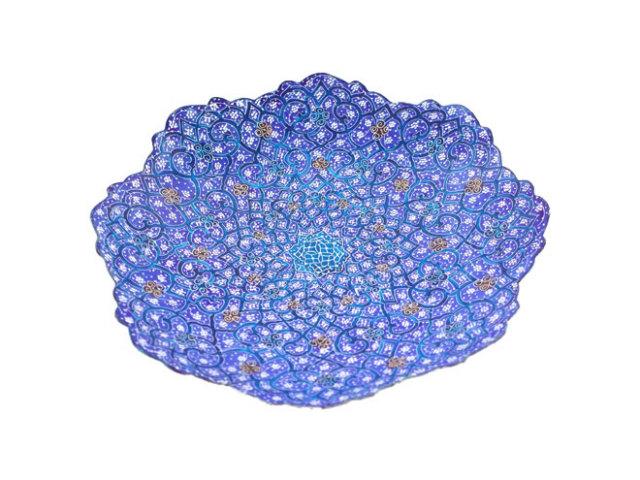ミナ Plate 直径 約17cm mp017017001
