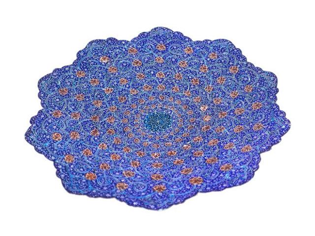 ミナ Plate 直径 約20cm mp020020002