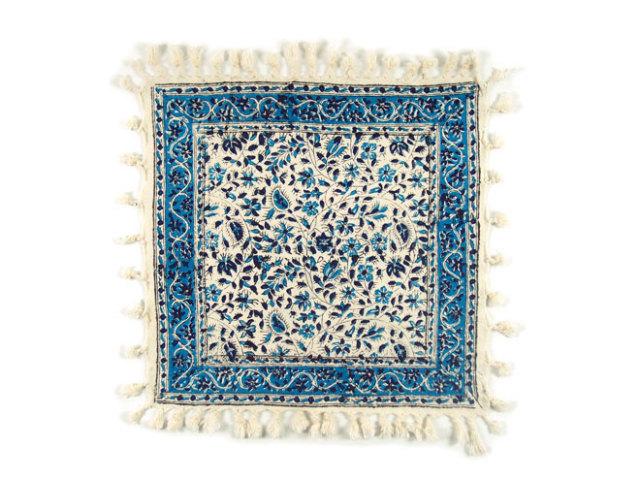 サラサ 約39×39cm ブルー sa039039001