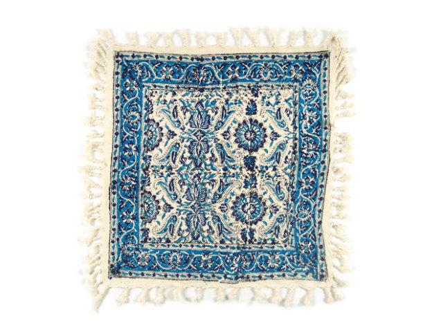 サラサ 約39×40cm ブルー sa039040001