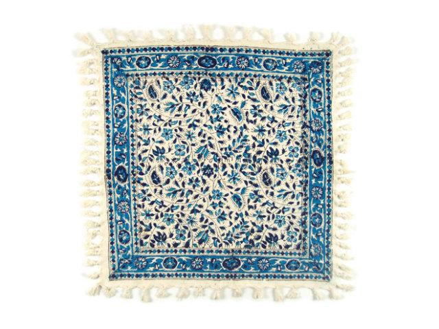 サラサ 約40×41cm ブルー sa040041001