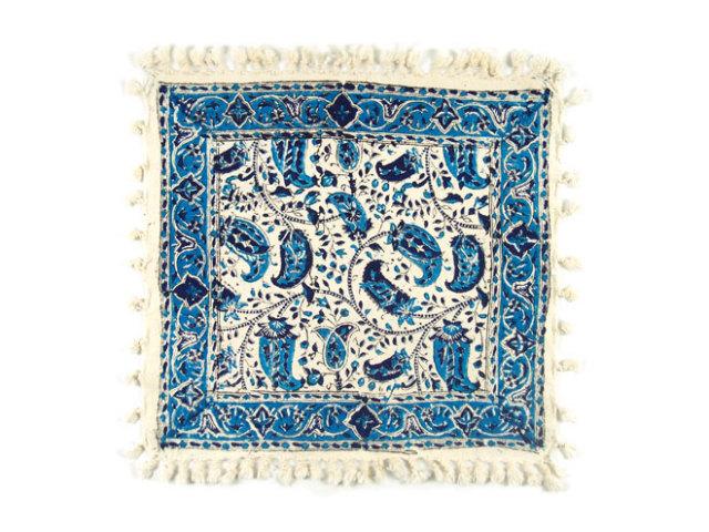 サラサ 約41×38cm ブルー sa041038001