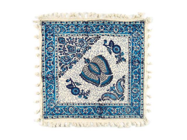 サラサ 約41×39cm ブルー sa041039001