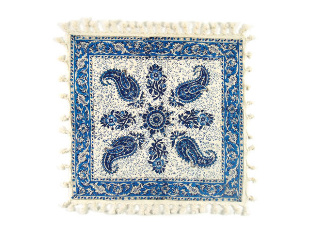 サラサ 約41×40cm ブルー sa041040001