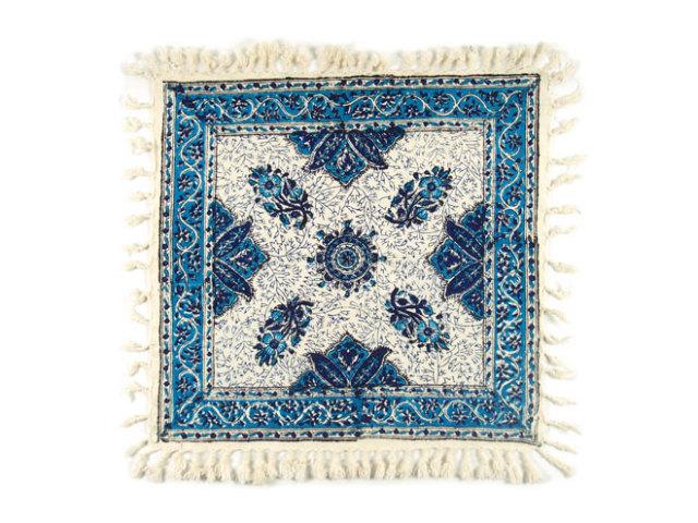サラサ 約42×41cm ブルー sa042041001