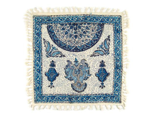 サラサ 約48×48cm ブルー sa048048001