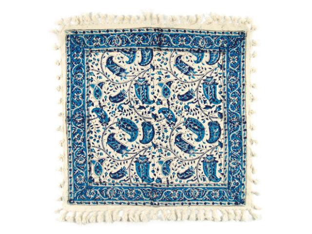 サラサ 約49×47cm ブルー sa049047001