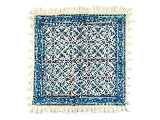 サラサ 約49×48cm ブルー sa049048001