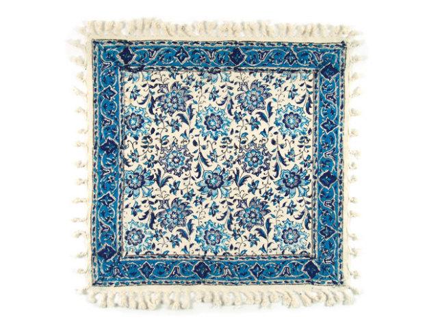 サラサ 約49×48cm ブルー sa049048002