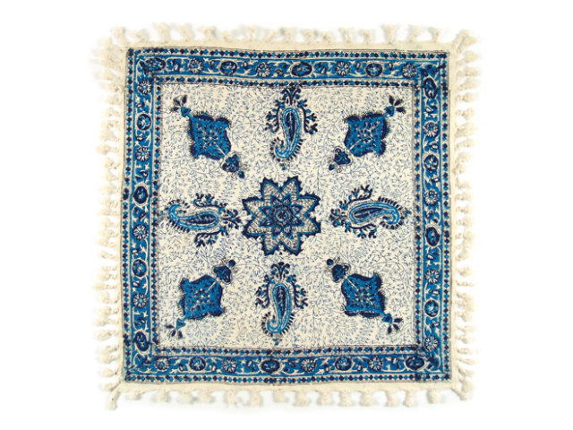 サラサ 約49×49cm ブルー sa049049001